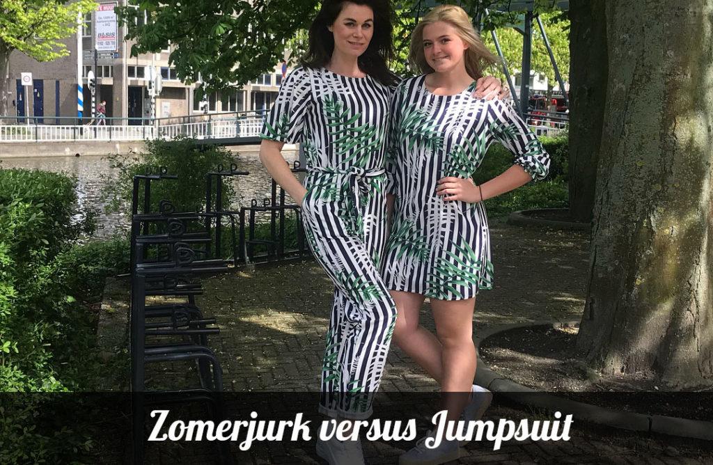 zomerjurk jumpsuit