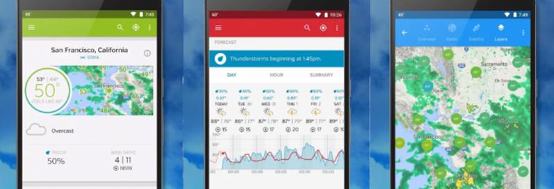 Beste weer app 9