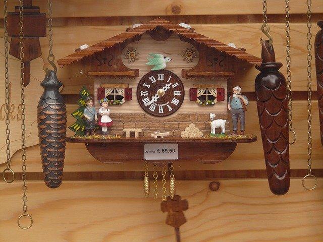 Type klokken